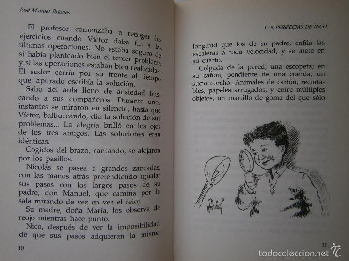 Libros de segunda mano: LAS PERIPECIAS DE NICO Jose Manuel Briones Rialp 1989 - Foto 6 - 60542951