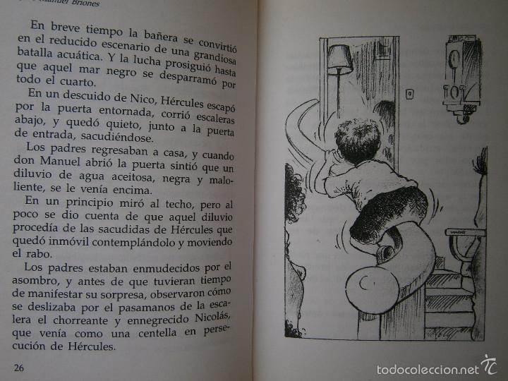 Libros de segunda mano: LAS PERIPECIAS DE NICO Jose Manuel Briones Rialp 1989 - Foto 7 - 60542951