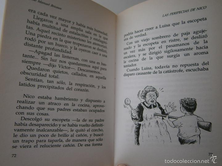 Libros de segunda mano: LAS PERIPECIAS DE NICO Jose Manuel Briones Rialp 1989 - Foto 9 - 60542951