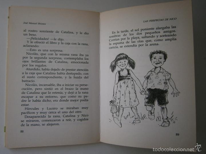Libros de segunda mano: LAS PERIPECIAS DE NICO Jose Manuel Briones Rialp 1989 - Foto 10 - 60542951