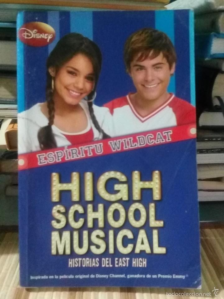 ESPÍRITU WILDCAT - HIGH SCHOOL MUSICAL - DISNEY (Libros de Segunda Mano - Literatura Infantil y Juvenil - Novela)