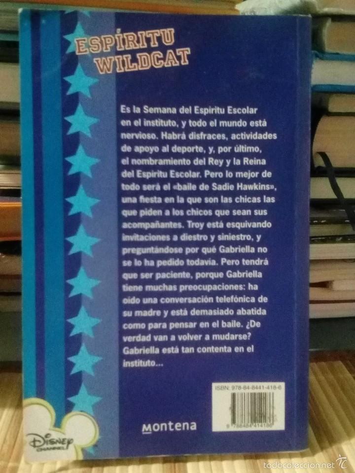 Libros de segunda mano: Espíritu Wildcat - High School Musical - Disney - Foto 2 - 60867907