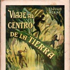 Libros de segunda mano: JULIO VERNE : VIAJE AL CENTRO DE LA TIERRA (SOPENA, 1936). Lote 61617796
