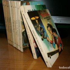 Libros de segunda mano: 10 LIBROS SERIE JOVENCITA - L. GARCIA CORELLA - EDT. VASCO AMERICANA - 1968 COMPLETA. Lote 50338519