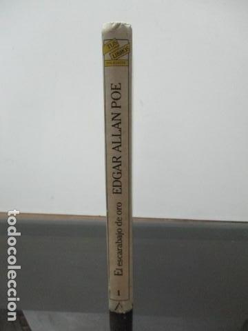 Libros de segunda mano: El escarabajo de oro y otros cuentos, Edgar Allan Poe, Tus libros Anaya - Foto 2 - 241154840