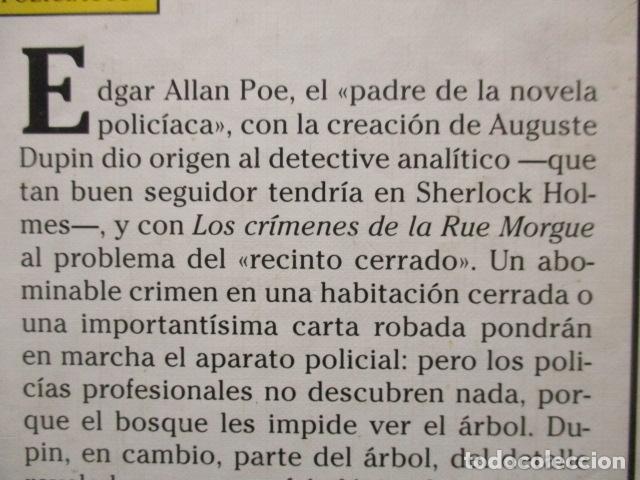 Libros de segunda mano: El escarabajo de oro y otros cuentos, Edgar Allan Poe, Tus libros Anaya - Foto 10 - 241154840