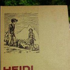 Libros de segunda mano: HEIDI SERIE MUJERCITAS EDITORIAL BRUGUERA 1966 - 1ª EDICCION. Lote 63425724