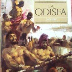Libros de segunda mano: LA ODISEA. - BARCELONA, VERÓN EDITOR, COLECC. OBRAS INMORTALES, 1968. ADAPTACIÓN: RAMÓN CONDE.. Lote 55965992