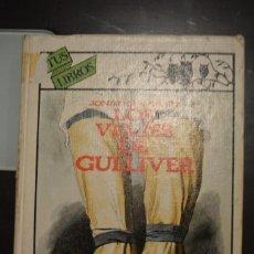 Libros de segunda mano: LOS VIAJES DE GULLIVER. AUTOR: JONATHAN SWIFT. Lote 74288323