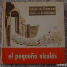 Libros de segunda mano: EL PEQUEÑO NICOLÁS - GOSCINNY. Lote 64830023