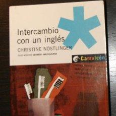 Libros de segunda mano: INTERCAMBIO CON UN INGLÉS CHRISTINE NÖSTINGLER. Lote 64897059