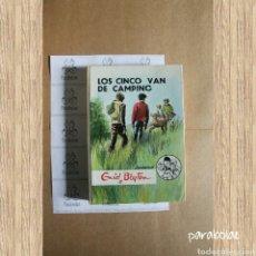 Libros de segunda mano: ENID BLYTON, LOS CINCO VAN DE CAMPING. EDITORIAL JUVENTUD. Lote 65018606