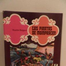Libros de segunda mano: LOS PIRATAS DE MOMPRACEN - COLECCION SANDOKAN - EMILIO SALGARI - EDITORIAL EVEREST - 1977. Lote 67768337
