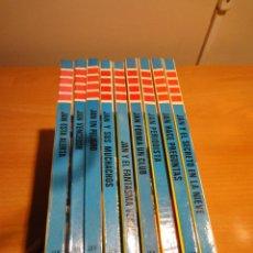 Libros de segunda mano: SELECCIÓN 9 TÍTULOS DETECTIVE JAN (ED. TORAY). TODOS PRIMERAS EDICIONES (1973 A 1975).. Lote 68499809