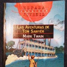 Libros de segunda mano: LAS AVENTURAS DE TOM SAWYER DE MARK TWAIN. Lote 70133793
