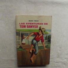 Libros de segunda mano: LAS AVENTURAS DE TOM SAWYER DE MARK TWAIN. Lote 72320127