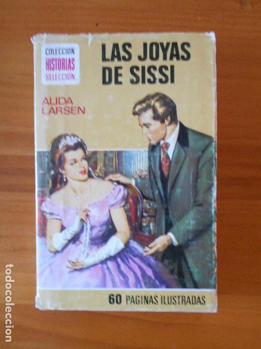 LAS JOYAS DE SISSI - ALIDA LARSEN - COLECCION HISTORIAS SELECCION - SERIE SISSI 10 - BRUGUERA (X2) (Libros de Segunda Mano - Literatura Infantil y Juvenil - Novela)
