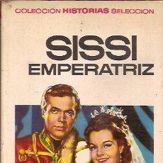 Libros de segunda mano: COLECCION HISTORIAS SELECCION 2 SISSI EMPERATRIZ EDITORIAL BRUGUERA 1ª ED 1966 ILUSTRADO MARIA BARR. Lote 73296119