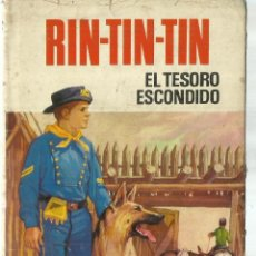 Libros de segunda mano: RIN-RIN. EL TESORO ESCONDIDO. EDICIONES BRUGUERA. BARCELONA. 1970. Lote 75288839