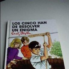 Libros de segunda mano: LOS CINCO HAN DE RESOLVER UN ENIGMA, ENID BLYTON. EDITORIAL JUVENTUD. ENVÍO ORDINARIO 2,20€. Lote 75293939
