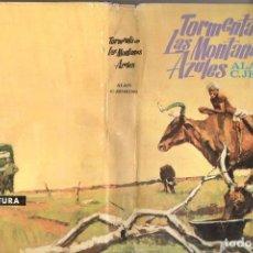 Libros de segunda mano: ALAN JENKINS : TORMENTA EN LAS MONTAÑAS AZULES (MOLINO, 1967) . Lote 75508003