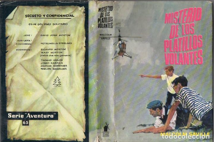 MALCOLM SAVILLE : MISTERIO DE LOS PLATILLOS VOLANTES (MOLINO, 1965) (Libros de Segunda Mano - Literatura Infantil y Juvenil - Novela)