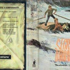 Libros de segunda mano: MALCOLM SAVILLE : EL SECRETO DEL BARRANCO (MOLINO, 1968) . Lote 108783120
