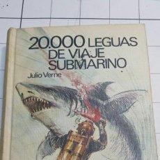 Libros de segunda mano: LIBRO 20000 LEGUAS DE VIAJE SUBMARINO JULIO VERNE AÑO 68. Lote 58632712