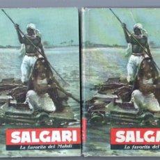 Libros de segunda mano: SALAGARI Nº 63 - EMILIO SALGARI - LA FAVORITA DEL MAHDÍ - EDI. MOLINO 1961. Lote 75604219