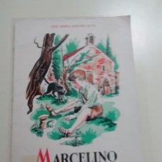 Libros de segunda mano: MARCELINO PAN Y VINO-JOSE M. SANCHEZ SILVA-DIBUJOS LORENZO GOÑI-ED. CIGUEÑA-1955-9º EDICION. Lote 75788927