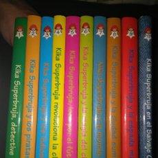 Libros de segunda mano: LOTE KIKA SUPERBRUJA 10 EJEMPLARES (NUMS 1-9 +13). Lote 75905227