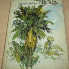 Libros de segunda mano: ROBINSON CRUSOE - DANIEL DEFOE. Lote 76798399