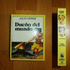 Libros de segunda mano: VERNE, JULIO. DUEÑO DEL MUNDO. (HISTORIAS INFANTIL ; 34). Lote 77746341