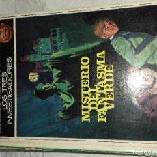 Libros de segunda mano: ALFRED HITCHCOCK Y LOS TRES INVESTIGADORES, EL MISTERIO DEL FANTASMA VERDE, EDITORIAL MOLINO, 1982. Lote 80778642