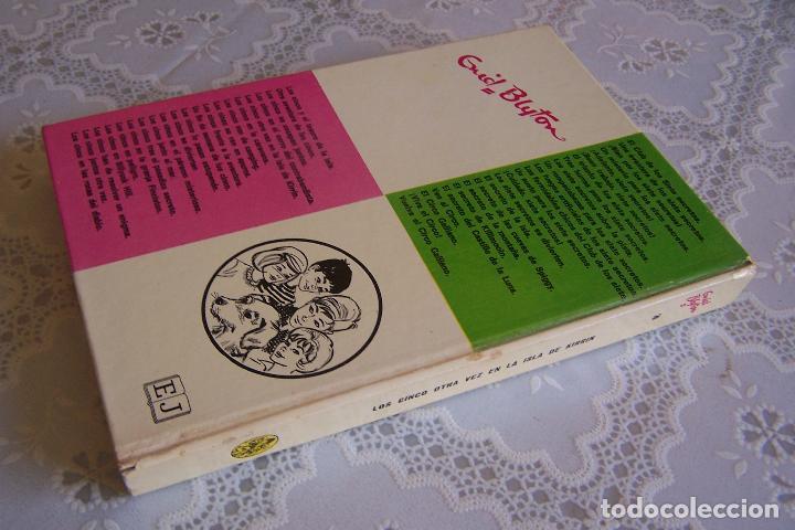 Libros de segunda mano: LOS CINCO OTRA VEZ EN LA ISLA DE KIRRIN. ENID BLYTON. EDITORIAL JUVENTUD, 1978. 7ª EDICIÓN. - Foto 3 - 129119646