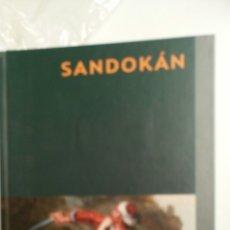 Libros de segunda mano: SANDOKAN, DE EMILIO SALGARI, PLANETA DEAGOSTINI Y EL PROGRAMA UN, DOS, TRES.. Lote 80954802