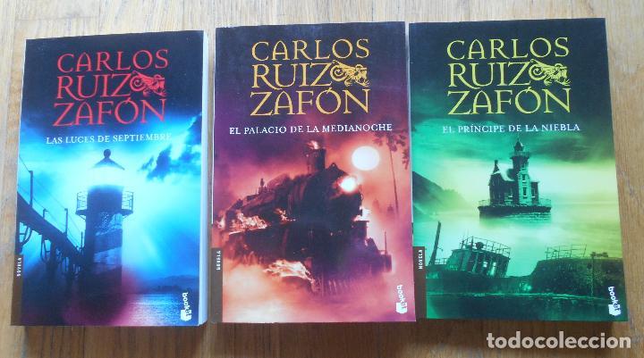 2 novelas de, carlos ruiz zafon, 2 novelas - Vendido en