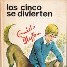 Libros de segunda mano: ENID BLYTON : LOS CINCO SE DIVIERTEN (JUVENTUD, 1969). Lote 82082280