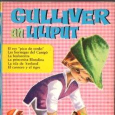Libros de segunda mano: HEIDI BRUGUERA : GULLIVER EN LILIPUT (1963). Lote 125137835
