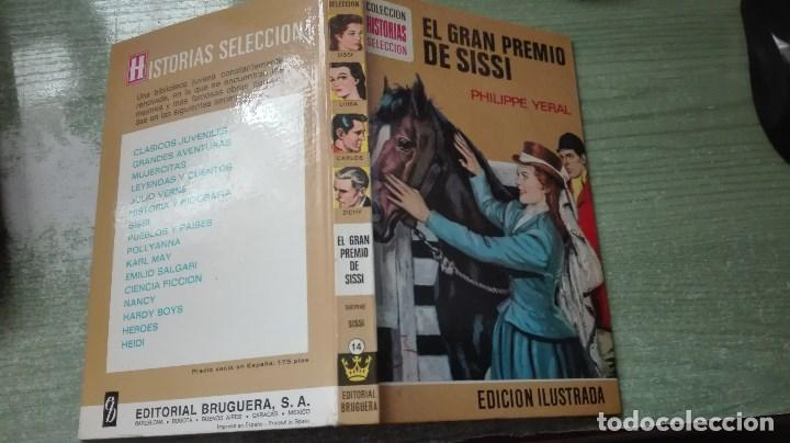 Libros de segunda mano: MUY RARO LIBRO COLECCIÓN HISTORIAS SELECCIÓN EL GRAN PREMIO DE SISI 1979 - Foto 3 - 82264544