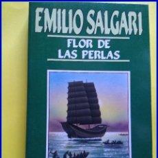 Libros de segunda mano: EMILIO SALGARI, ORBIS 1987, 47 FLOR DE LAS PERLAS. Lote 295000063