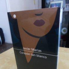 Libros de segunda mano: CORAZÓN TAN BLANCO, JAVIER MARÍAS, TAPA DURA, CIRCULO DE LECTORES, A ESTRENAR ESTA PRECINTADO. Lote 82996184