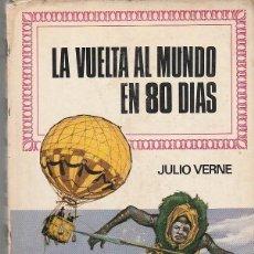 Libros de segunda mano: LA VUELTA AL MUNDO EN 80 DIAS (HISTORIAS INFANTIL Nº 29 - BRUGUERA 1969). Lote 83092604