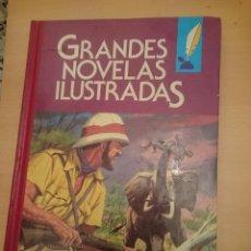 Libros de segunda mano: GRANDES NOVELAS ILUSTRADAS -NUMERO 2 -VER FOTOS -REFMENOEN. Lote 83445144
