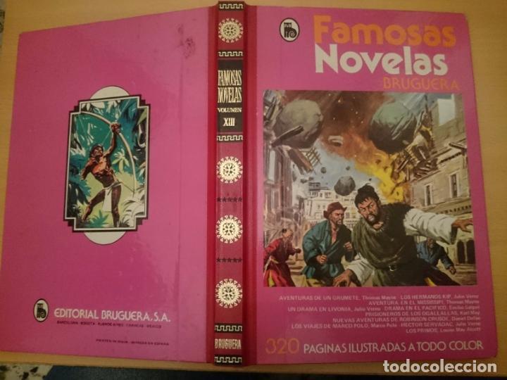 Libros de segunda mano: FAMOSAS NOVELAS - VOLUMEN XIII - VER FOTOS -RefMeNoEn - Foto 2 - 83445700