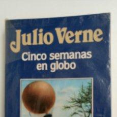 Libros de segunda mano: CINCO SEMANAS EN GLOBO, DE JULIO VERNE. . Lote 83562532