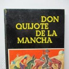 Libros de segunda mano: DON QUIJOTE DE LA MANCHA. ADAPTACIÓN: MARÍA LUZ MORALES. ILUSTRACIONES: MARIA CALATI. Lote 83611208
