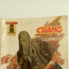 """Libros de segunda mano: EL ENCAPUCHADO, NÚMERO 34, """" CHANG """", CON ILUSTRACIONES DE DARNIS.. Lote 83803003"""