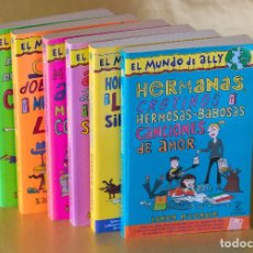 Libros de segunda mano: EL MUNDO DE ALLY DE KAREN MCCOMBIE LITERATURA JUVENIL NOVELAS 1 A 6 ESPASA. Lote 84439436