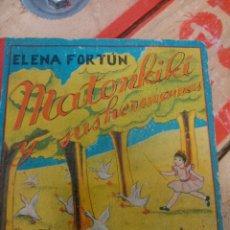 Libros de segunda mano: MATONKIKI Y SUS HERMANAS. Lote 86075396